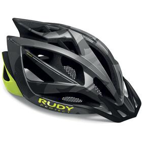 Rudy Project Airstorm MTB Helmet Titanium/Yellow Fluo Camo
